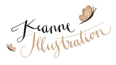 Keanne Illustrations logo